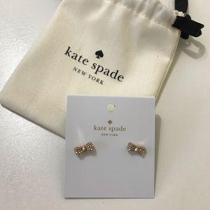 NWT Kate Spade Bow Studs